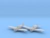 Republic P-43 'Lancer' 1:200 x2 FUD 3d printed