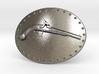 Muzzle Loading Gun Belt Buckle 3d printed