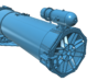 1/32 Forward Torpedo Tubes for PT Boats 3d printed