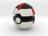 Pokeball (Timer) 3d printed