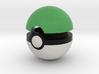 Pokeball (Green) 3d printed