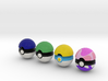 Pokeballs (Set 07) 3d printed