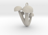 Bunapi Life-Size Mushroom Charm / Pendant 3d printed