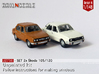 SET 2x Skoda Estelle (British N 1:148) 3d printed