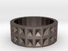 Ring - Recessed Pyramids 3d printed