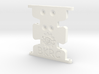 Scx10 Low Profile Trans Skid 3d printed