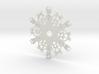 Snowman Snowflake Ornament 3d printed