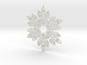Snow Angel Snowflake Ornament 3d printed