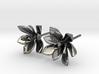 Succulent No. 3 Stud Earrings 3d printed