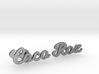 "Custom Name Cufflinks - ""Coco & Roz"" 3d printed"