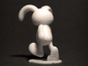 Rabbit Zoetrope Walk Sequence 3d printed