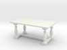 Table, Dining 1:48 3d printed