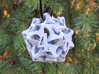 Pinwheel Die12 Ornament 3d printed In Alumide