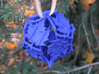 Botanical Die12 Ornament 3d printed In Royal Blue Strong & Flexible Polished