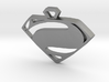 Superman Man of Steel pendant 3d printed