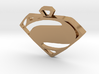 Superman Man of Steel pendant 3d printed
