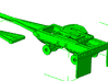 1/64th Tandem converter Dolly for trucks trailers 3d printed