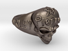 Harley Davidson Skulls Ring With  Sculpting  Your  3d printed