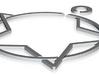 Star & Circle Symbol Pendant 3d printed