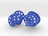 Curl - A pair of spiral design earrings 3d printed