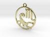 Scorpio Zodiac Pendant 3d printed