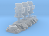1/25 Flathead Triple Deuce Carb Kit 3d printed