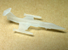1/350 F-104 Starfighter with Gear Down 3d printed Actual print in Frosted Ultra Detail.