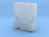 Skullcruncher Face, IDW (Titans Return) 3d printed