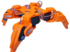 Quadra Bot - Middle Joint (Purchase x4) 3d printed