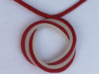 Mobius trifol necklace kit 3d printed