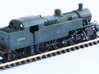 Fowler 2-6-4T Model 2mm 3d printed Another view of 0f the completed and weathered model