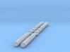1:72 Scale Mk 46 Torpedos (4x) 3d printed