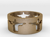 Cristo band Ring Size 8 3d printed