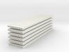 'N Scale' - (6) Precast Panel - Ribbed - 40'x10'x1 3d printed