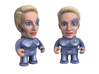 Seven of Nine Star Trek Caricature 3d printed Seven of Nine Star Trek Caricature