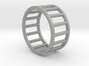 Albaro Ring- Size,8 3d printed