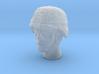 1/16 US Army ACH HELMET Head 1 3d printed