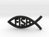 Literal Fish Emblem 3d printed