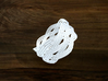 Turk's Head Knot Ring 5 Part X 6 Bight - Size 12.5 3d printed