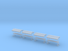 4 Market Stables (1:160) 3d printed