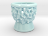 DRAW shot glass - inverted geode 3d printed