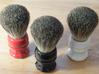 Shaving Brush Handle: Scallop 3d printed