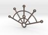 Lux Arati - Fire Fan Belly Dancing Necklace 3d printed