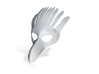 Splicer Mask Bird 3d printed