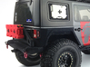 AJ10010 RotopaX window mount (1 only) 3d printed Shown fitted to the Axial JK rear window. RotopaX sold sep