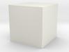 Material Sample 10mm Cube 3d printed