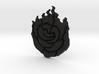 RWBY Ruby Rose Insignia pendant (non-attachable) 3d printed