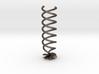 Helix Hair Pin Flower 3d printed