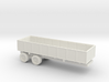 1/144 Scale M-35 Cargo Trailer 3d printed