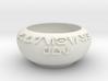 Custom Aurebesh Pot Concept 3d printed